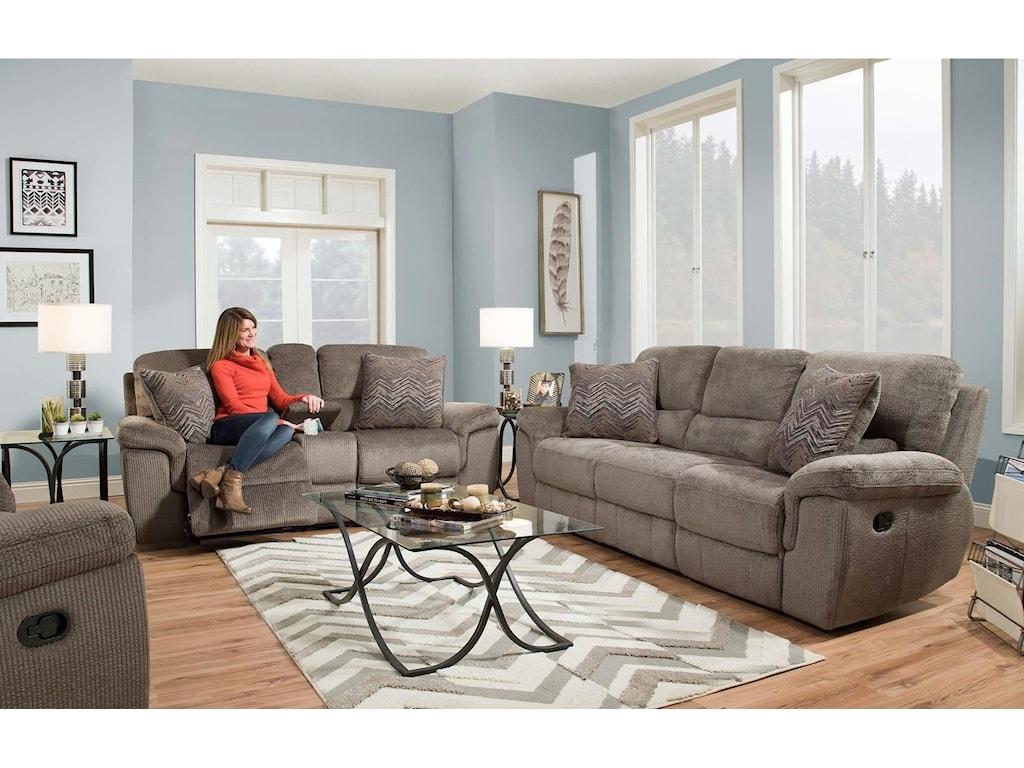 Corinthian 35001Reclining Sofa
