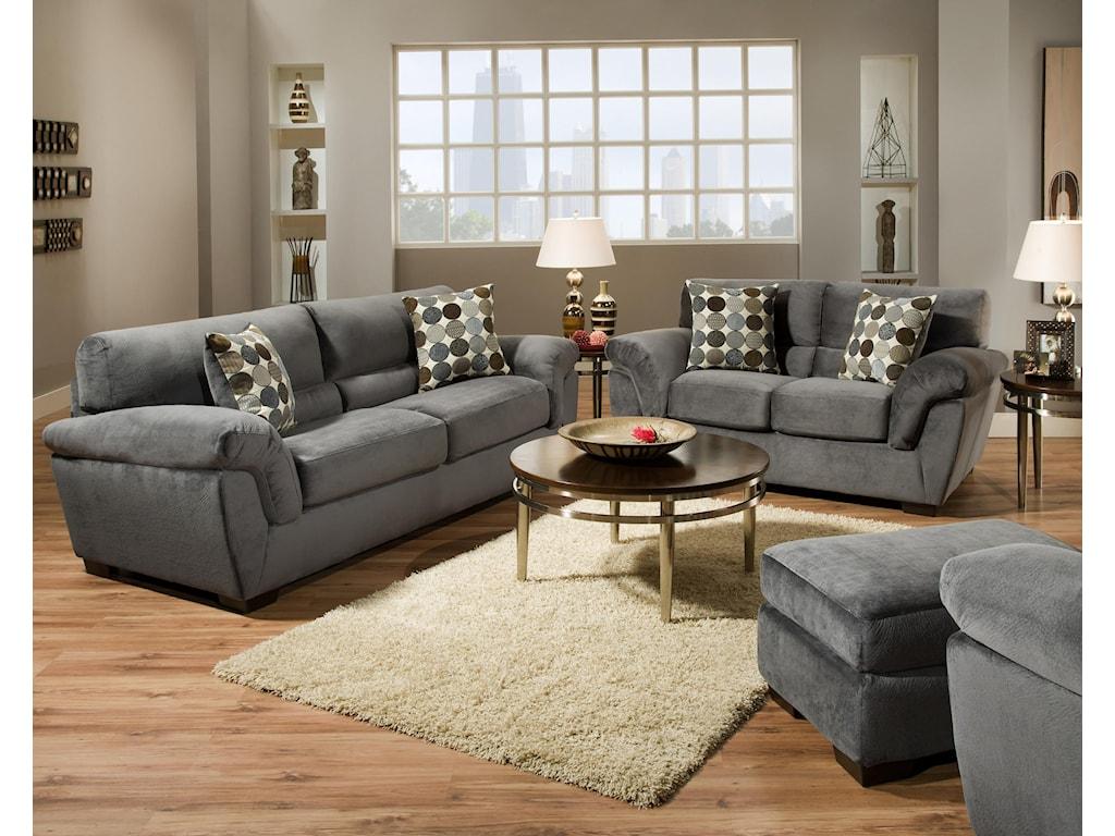 Corinthian 3850 Sofa