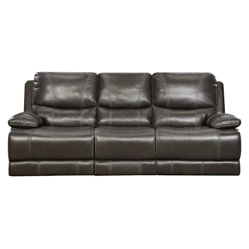Corinthian 42801 Reclining Sofa With Casual Contemporary
