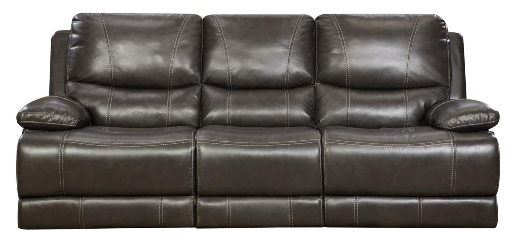 Grey Leather Reclining Sofa 1025theparty Com