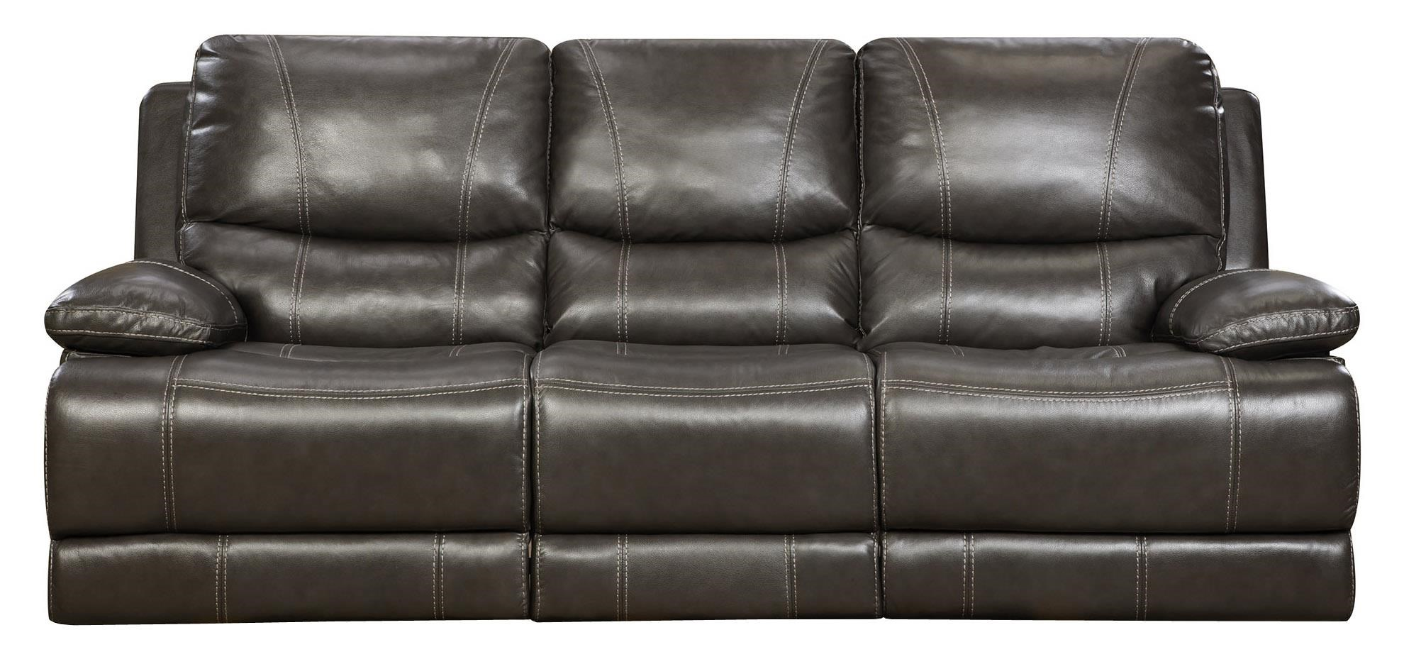 Corinthian Brooklyn CharcoalReclining Sofa ...