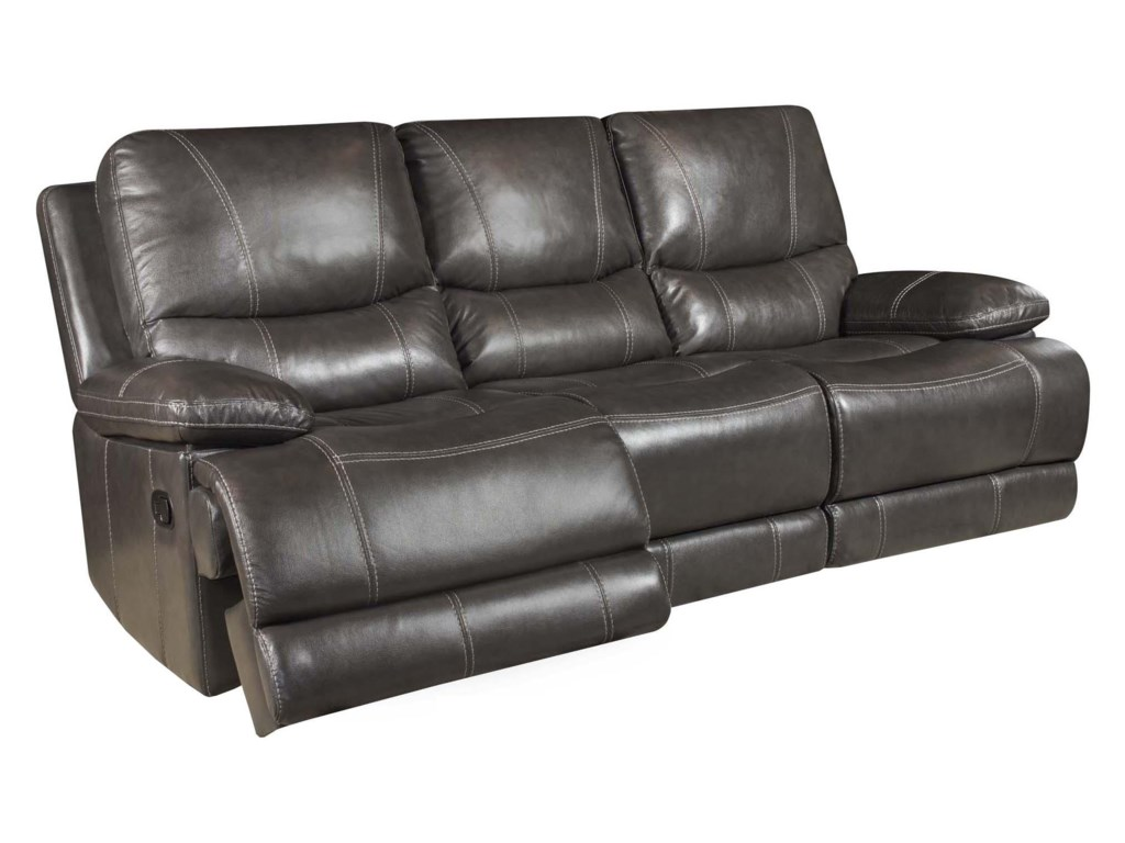 Corinthian Brooklyn Charcoalreclining Sofa