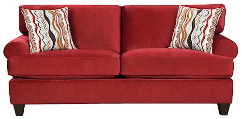 Corinthian 47B0  Casual and Contemporary Living Room Sofa