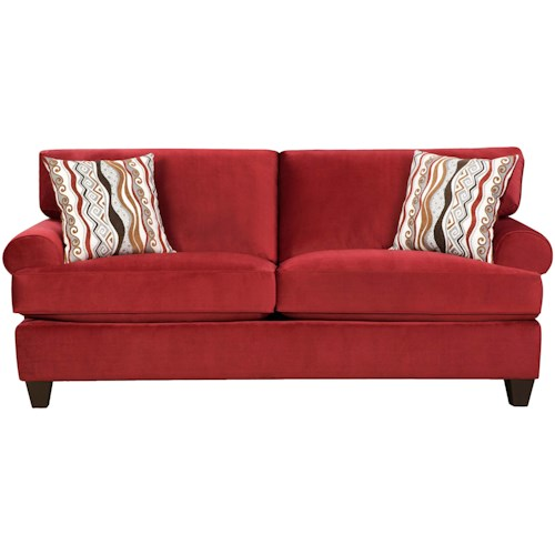 Corinthian 47B0  Casual and Contemporary Living Room Sofa