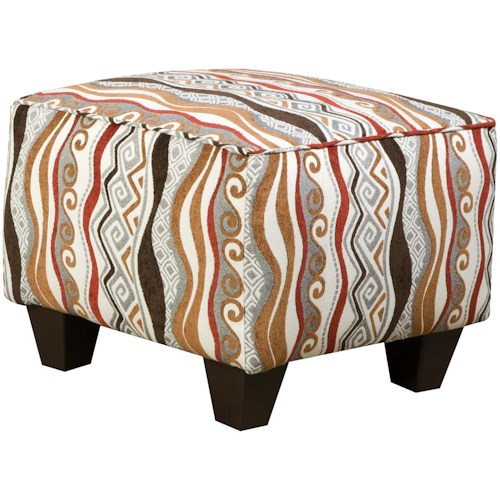 Corinthian 47A0 and 47B0 Specialty Contemporary Accent Ottoman