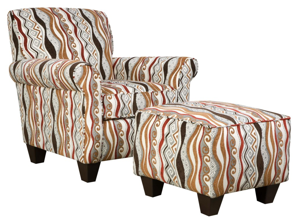 Corinthian 47A0 and 47B0Specialty Ottoman