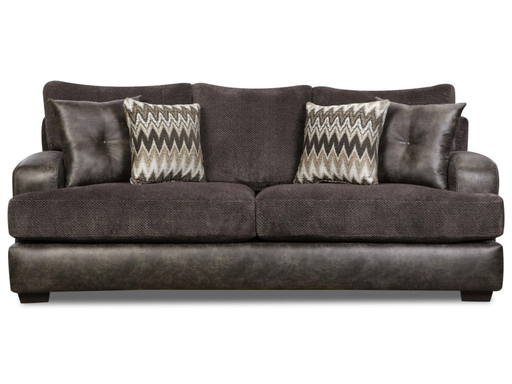 Corinthian MonroeSmoke Sofa