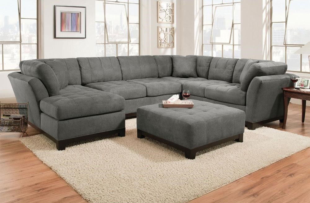 corinthian loxley charcoal left side facing chaise sectional great american home store sofa sectional