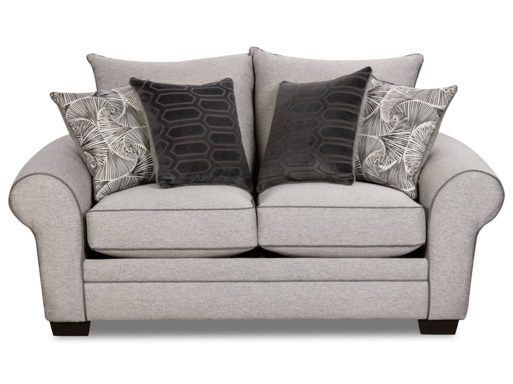Corinthian 5400 Transitional Loveseat Miskelly Furniture Loveseats