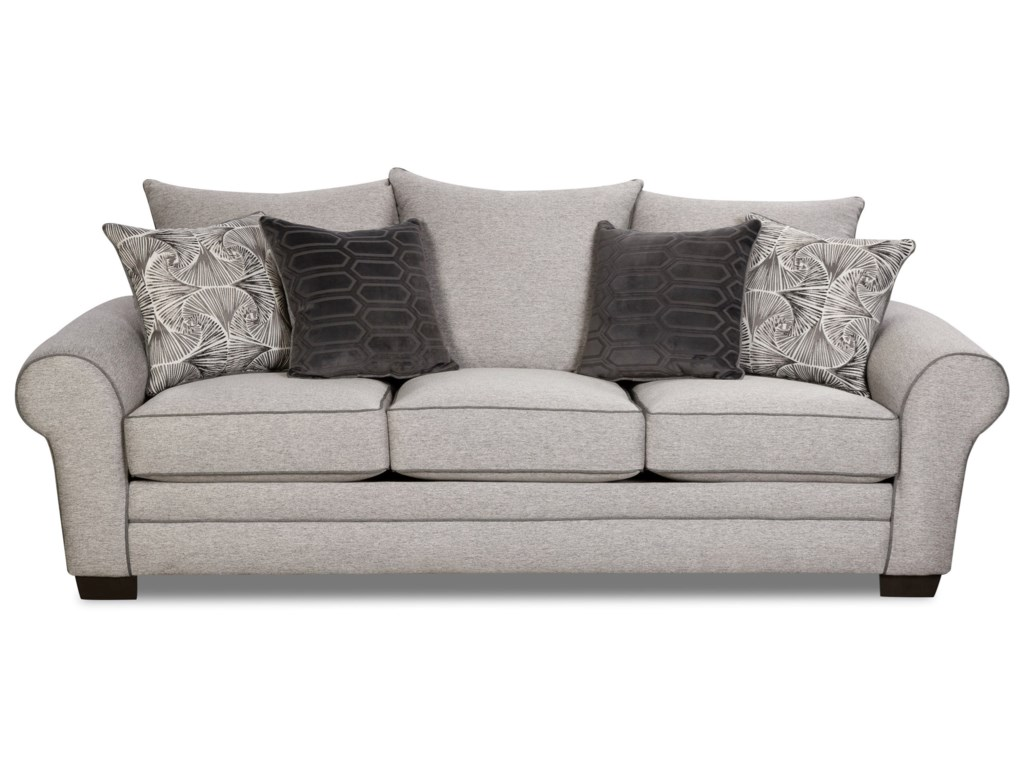 Corinthian 5400 Transitional Sofa Miskelly Furniture Sofas
