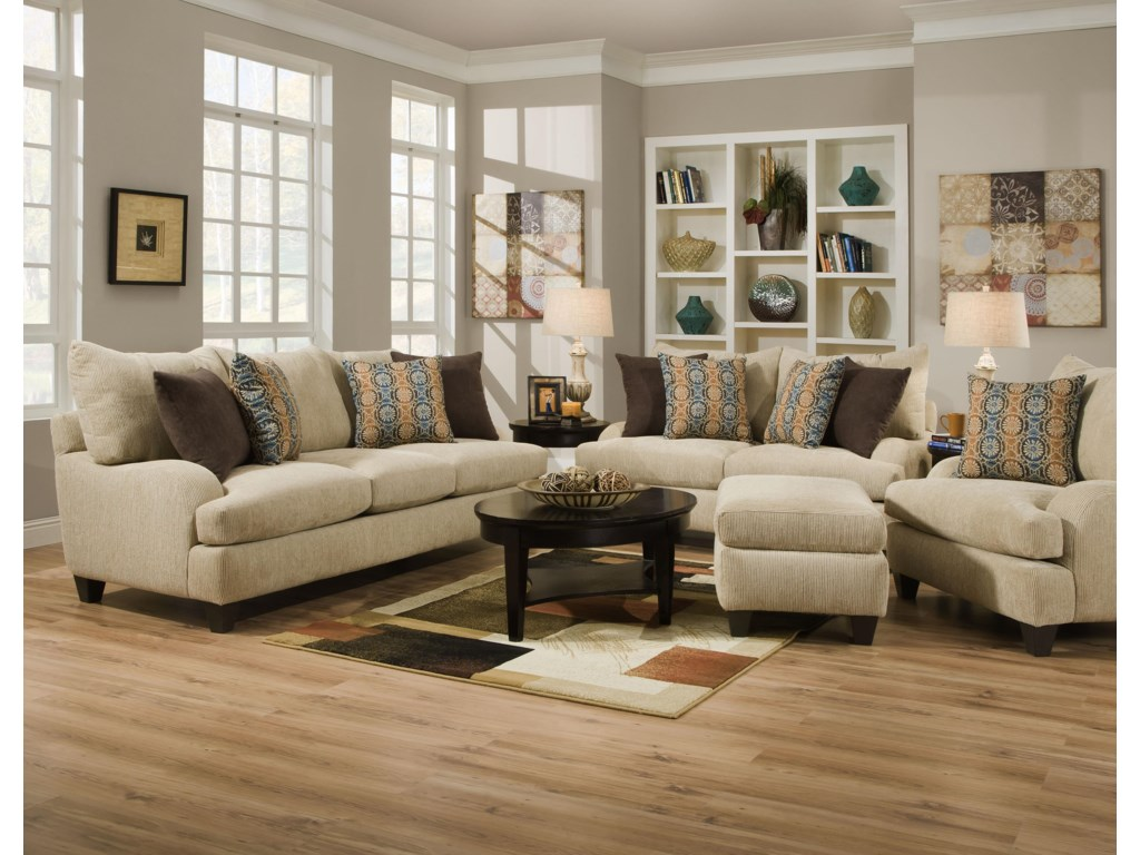 Corinthian 5510 Stationary Living Room Group