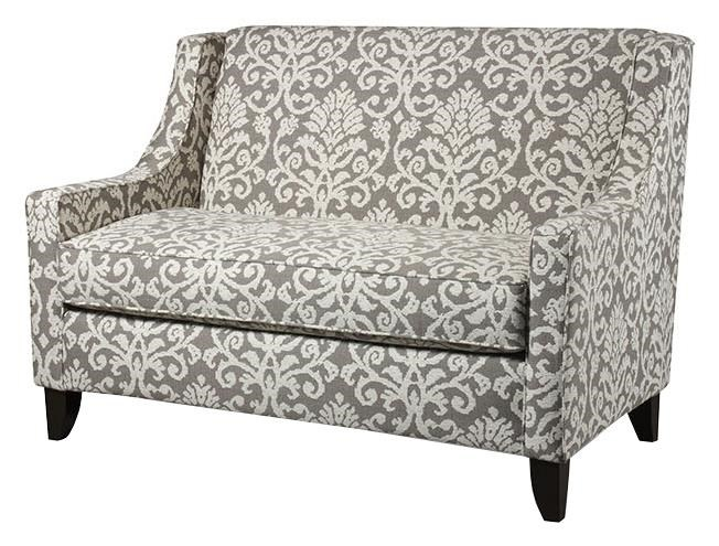 Corinthian 56A0 Settee With Casual Elegance