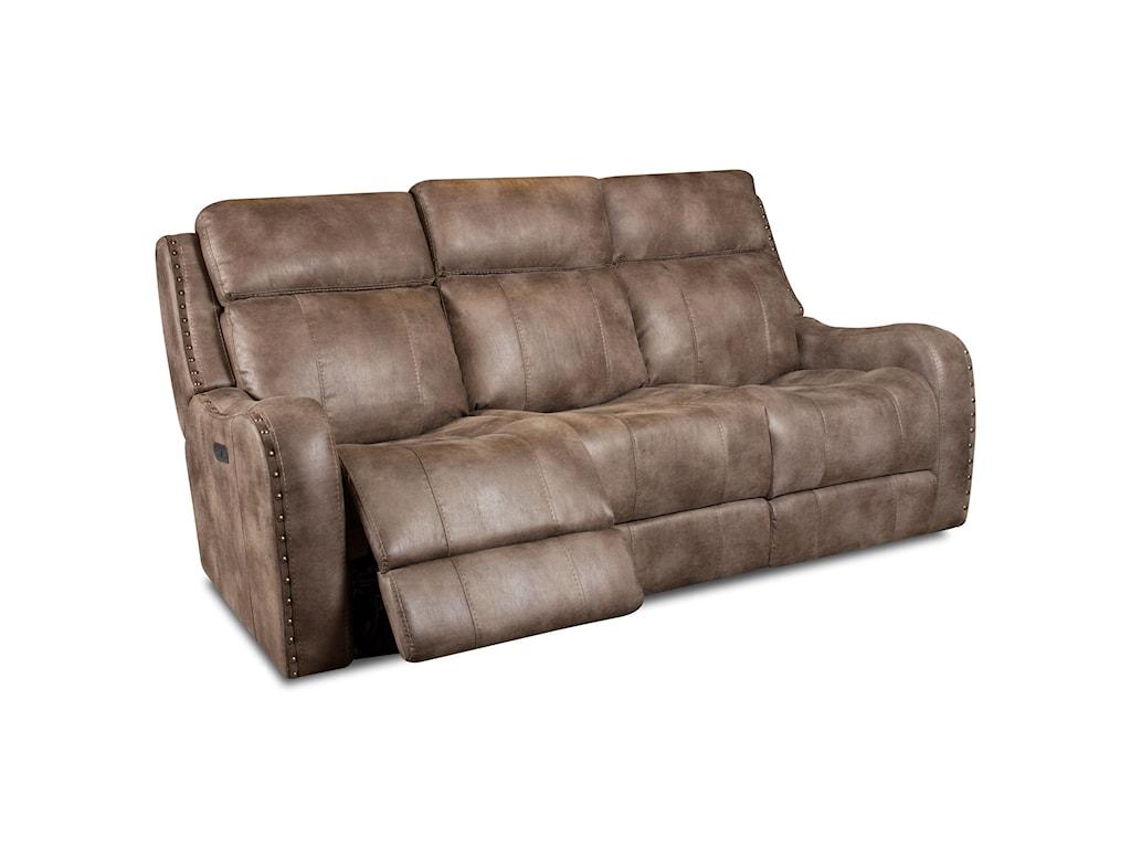Corinthian 58707Power Headrest Reclining Sofa