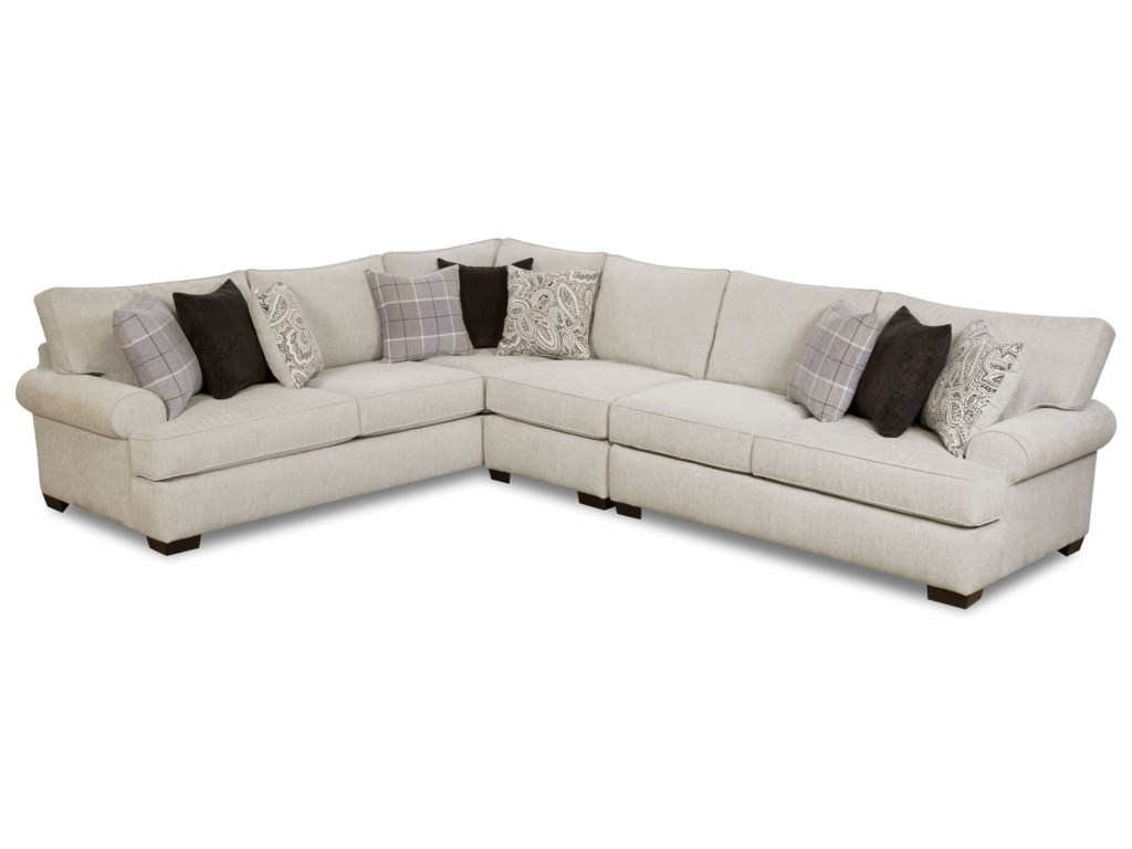 Corinthian 5900 5-Seat Sectional Sofa | Standard Furniture ...