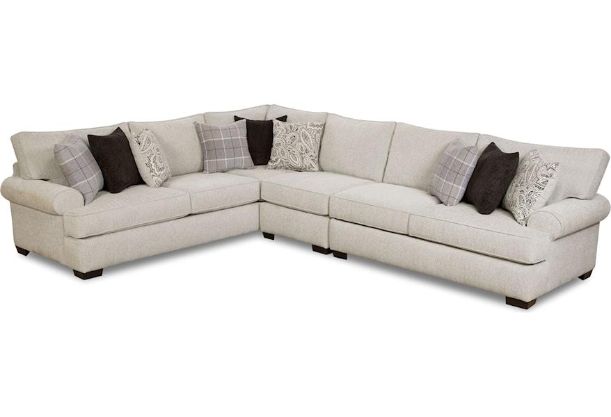 Corinthian 5900 5 Seat Sectional Sofa