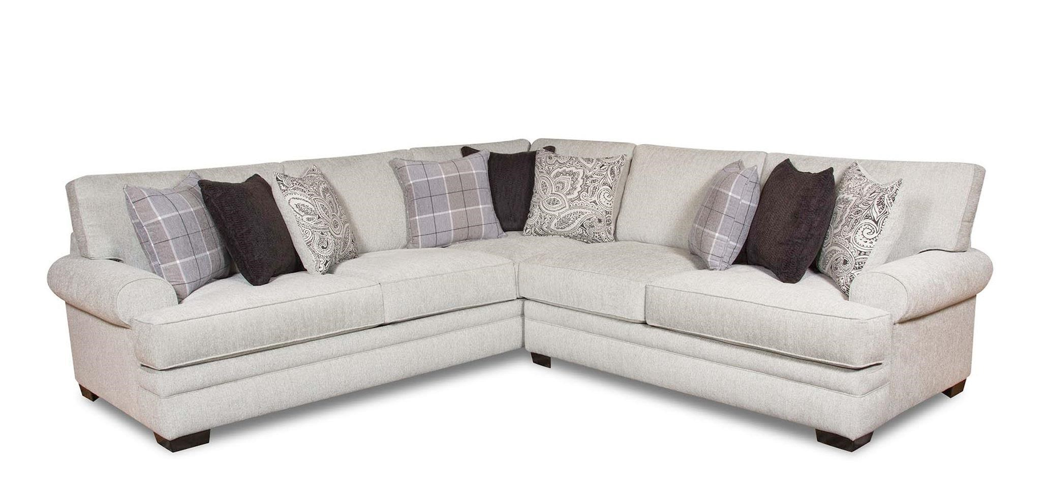 Corinthian 5900 2 Piece Transitional Sectional
