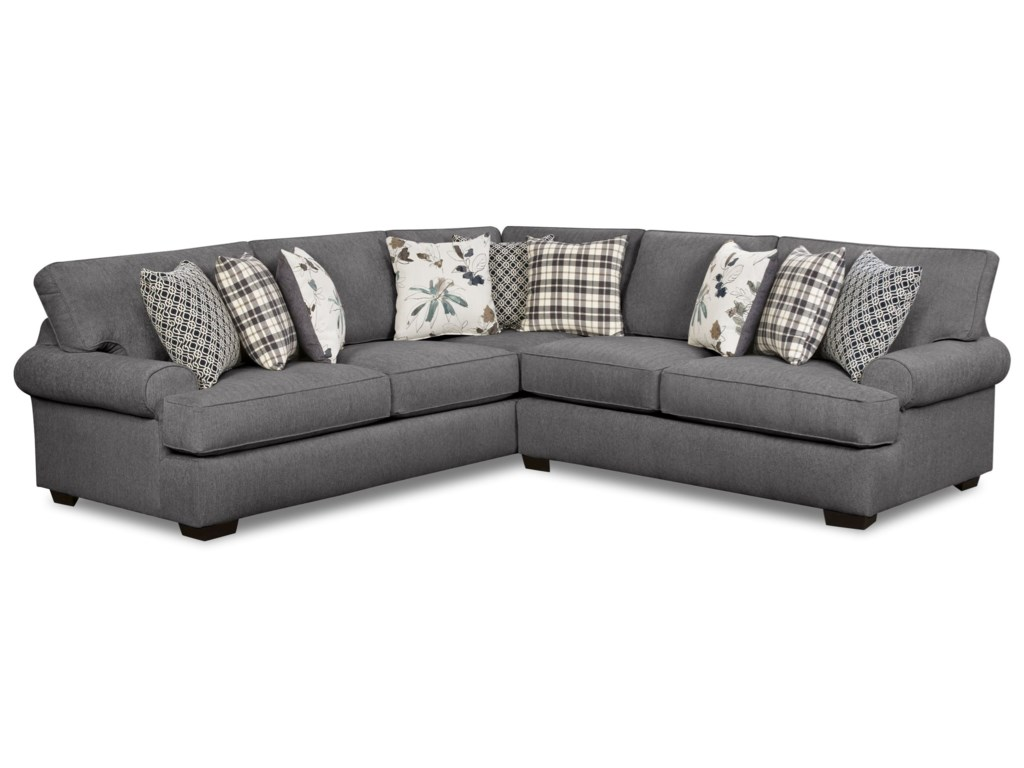 Corinthian 59204-Seat Sectional Sofa