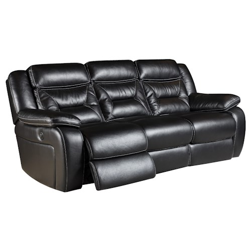 Corinthian Jamestown Reclining Sofa with 2 Recline Seats