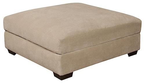Corinthian 61A0  Regular Ottoman for Use with Sectional Sofa