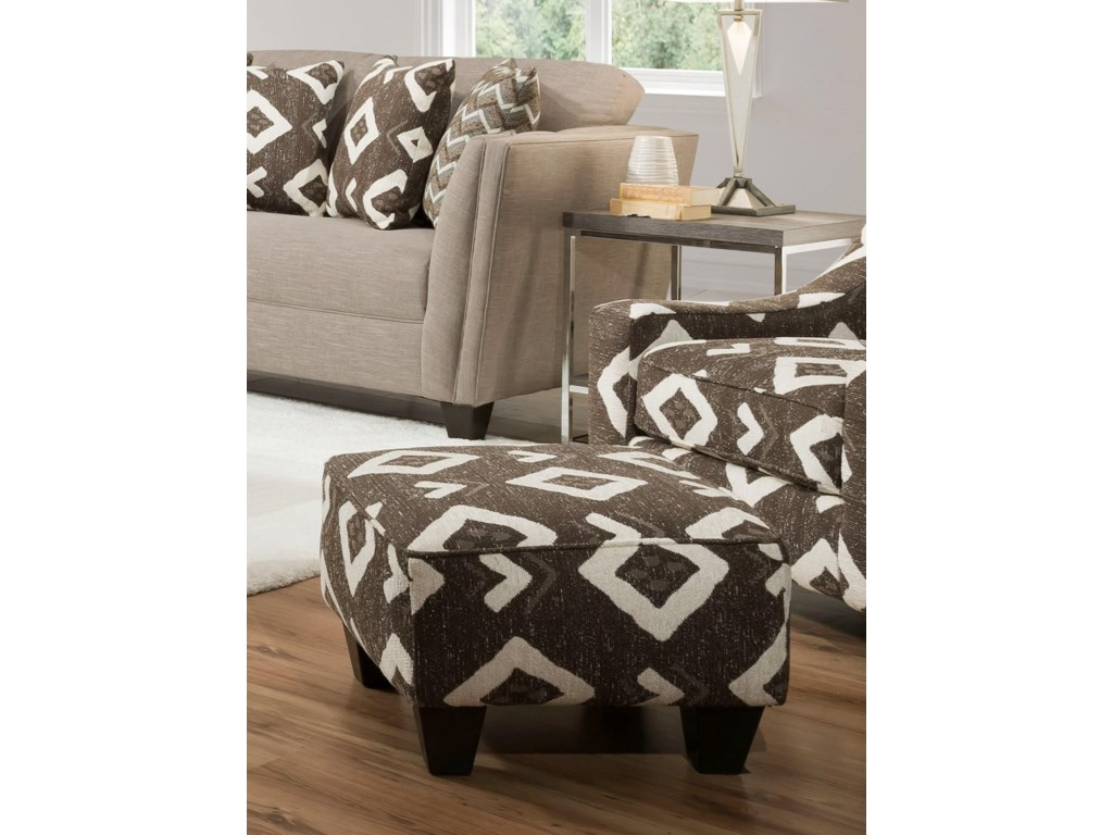 Corinthian Paradigm SiltYuban Java Accent Chair & Ottoman