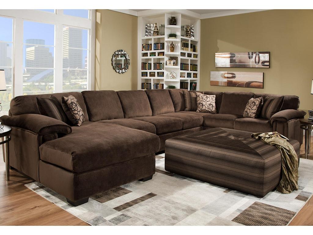 Corinthian 6500Sectional Sofa