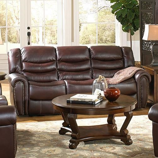 High Quality Corinthian 655 Motion Group Recline Sofa With Traditional Style
