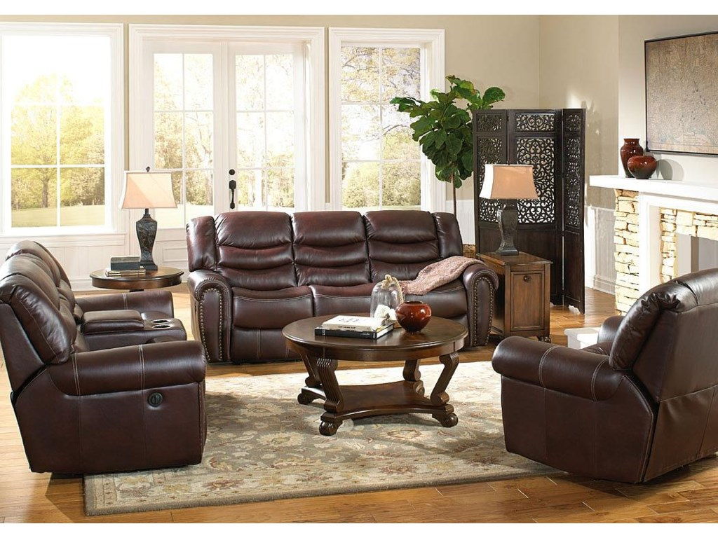 Corinthian 655 Motion GroupRecline Sofa