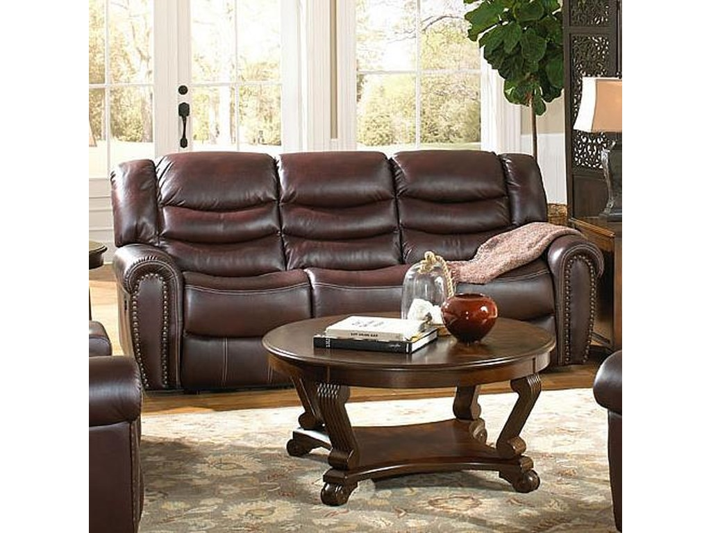 Corinthian 655 Motion GroupPower Recline Sofa
