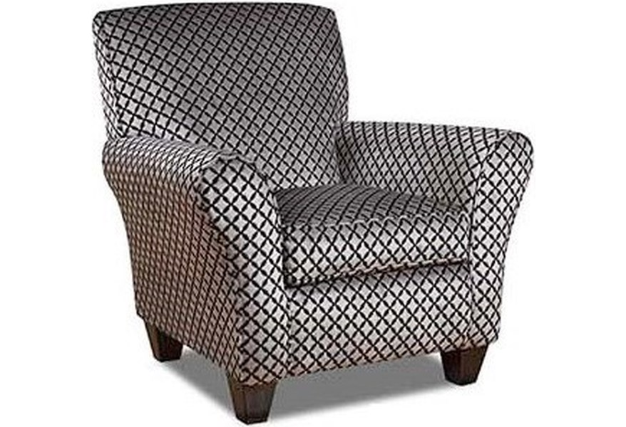 66J0 Accent Chair with Casual Style by Corinthian at Standard Furniture