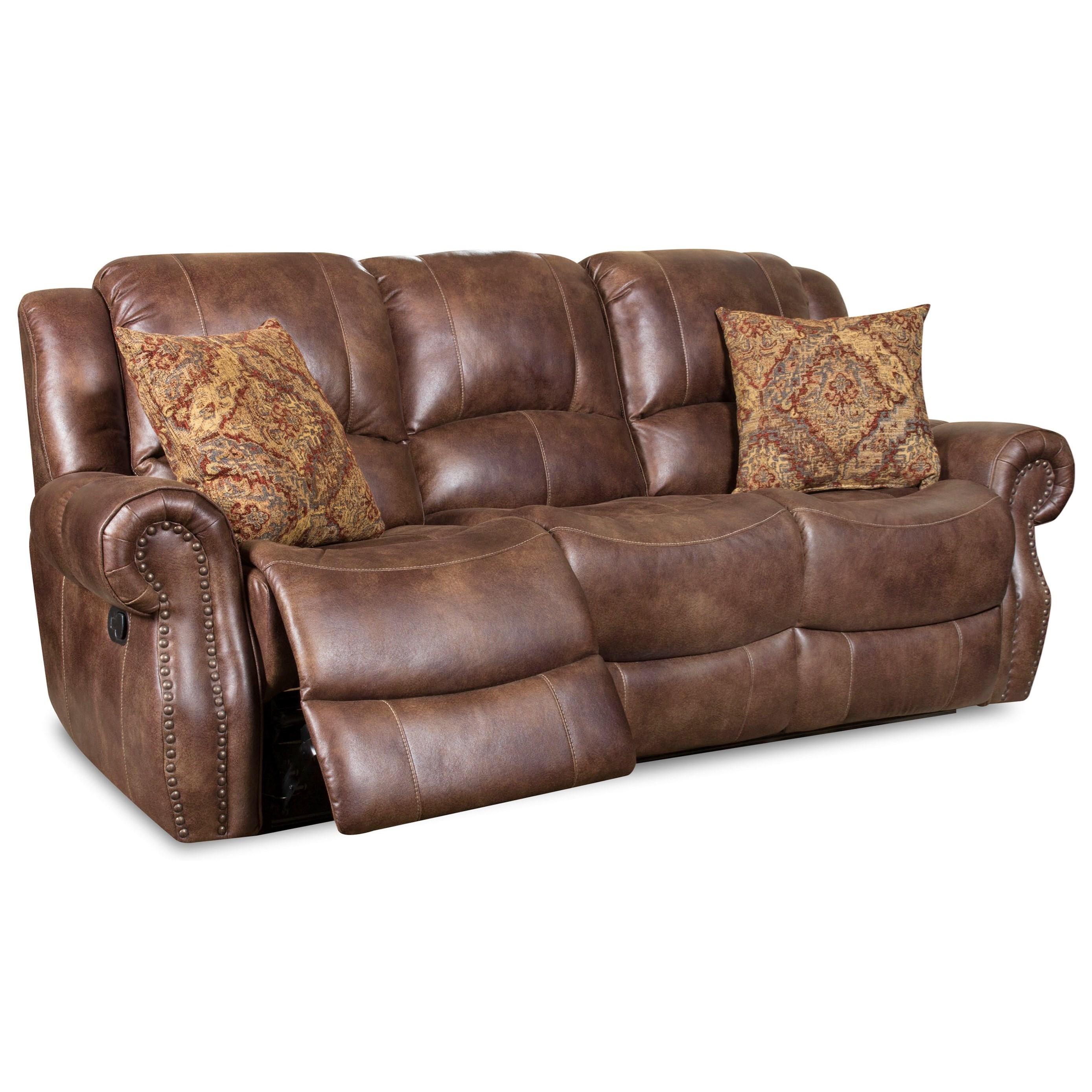 Superbe Corinthian 69901Recline Sofa