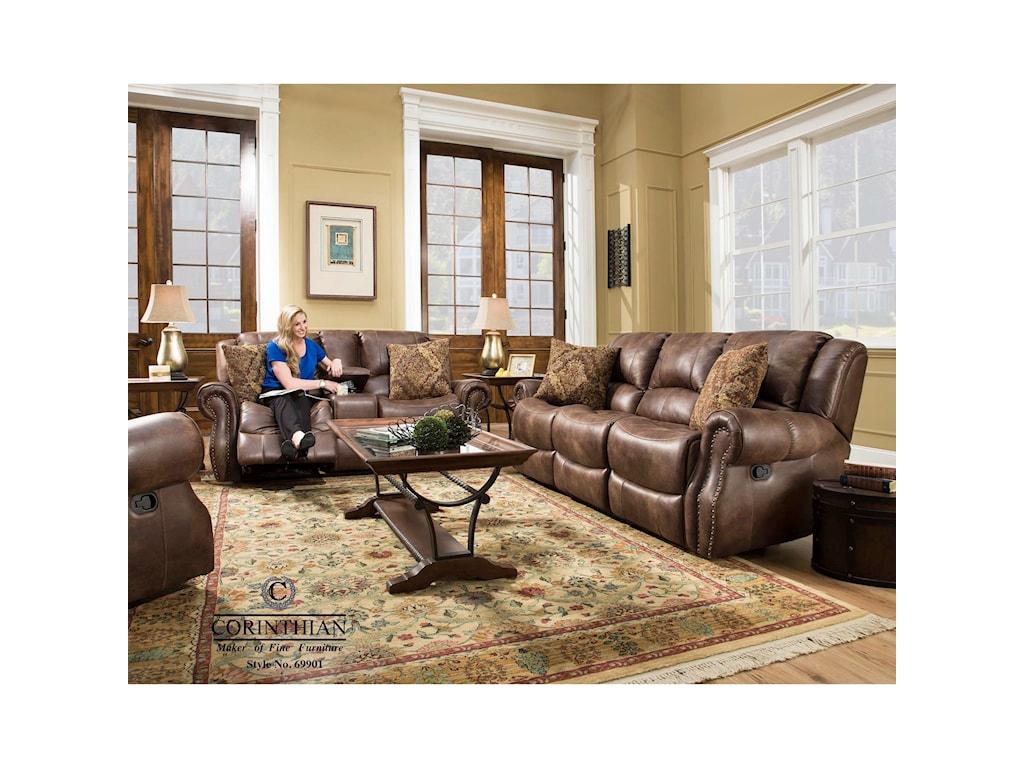 Corinthian 69901Recline Sofa