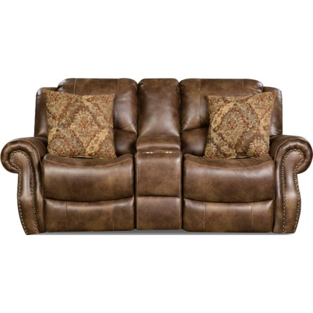Recline Console Loveseat