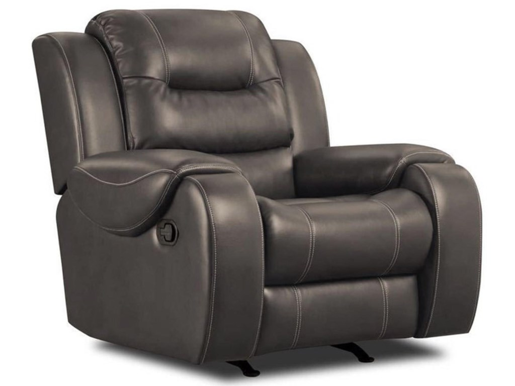 Corinthian JamestownJamestown Smoke Rocker Recliner