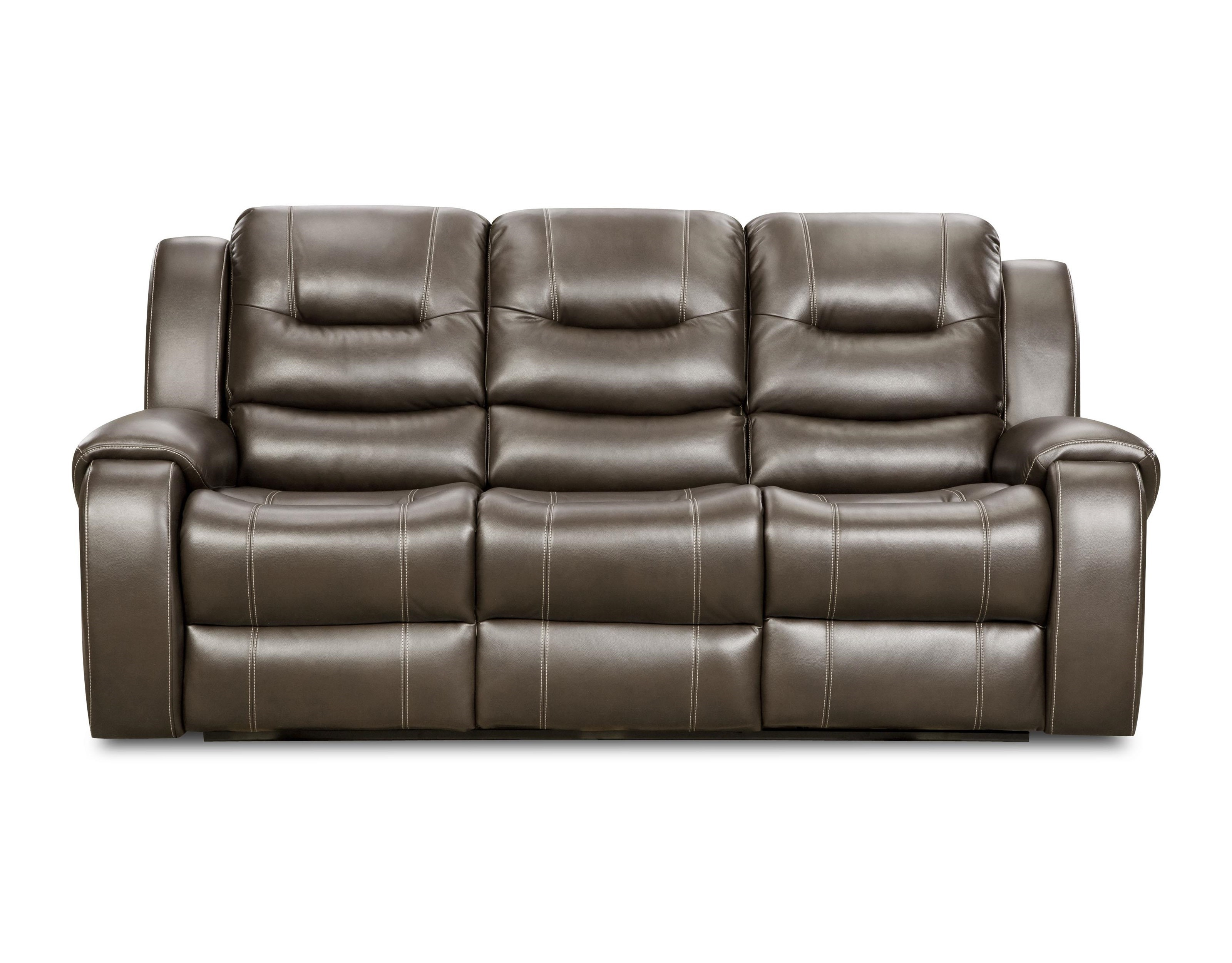 Corinthian JamestownJamestown Smoke Reclining Sofa ...