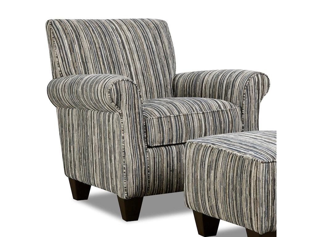 Corinthian 7370Contrast Accent Chair
