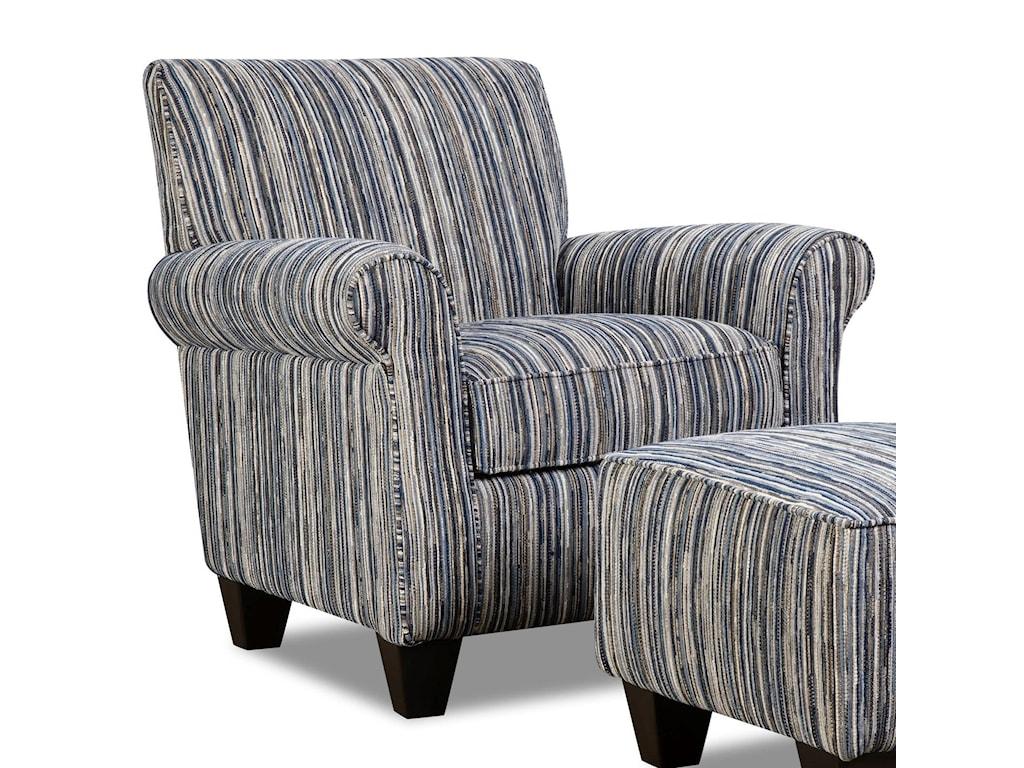 Corinthian 7380Contrast Accent Chair