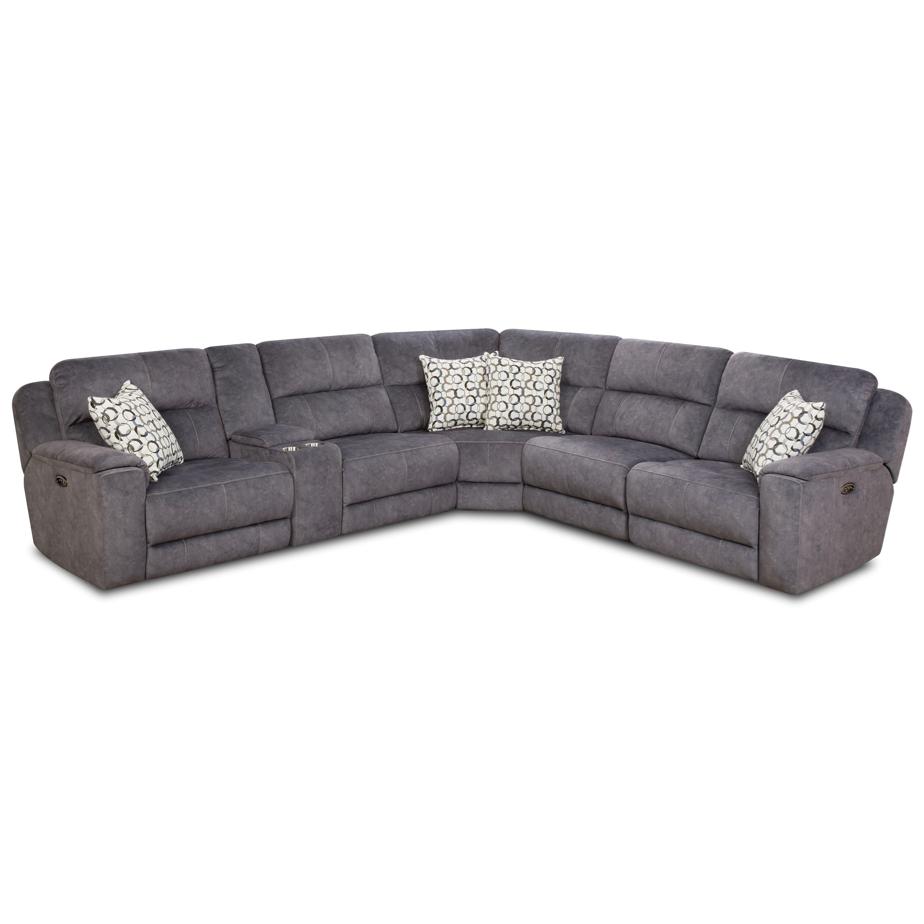 Corinthian 79003 Power Reclining Sectional Sofa (4 Recliners) - Gill Brothers Furniture - Reclining Sectional Sofas  sc 1 st  Gill Brothers Furniture : corinthian sectional sofa - Sectionals, Sofas & Couches