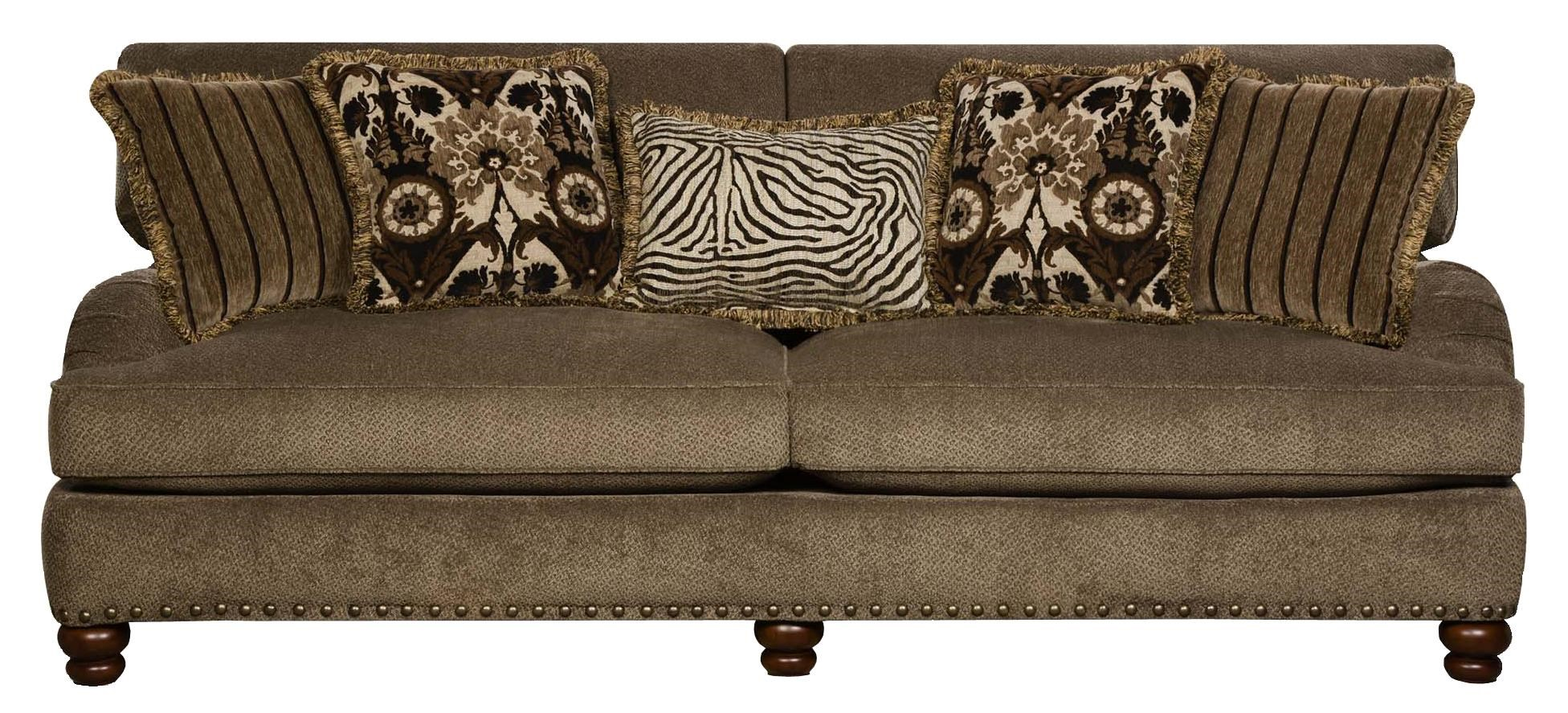 Corinthian 8010 Sofa With Traditional Style