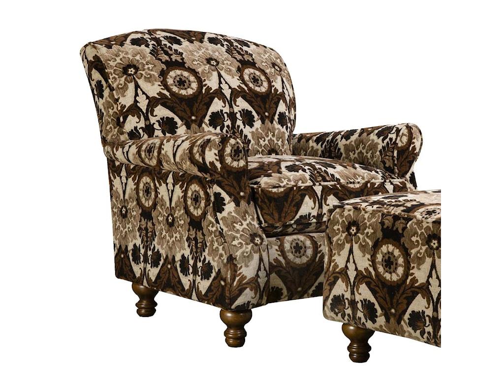 Corinthian 8010Contrast Accent Chair