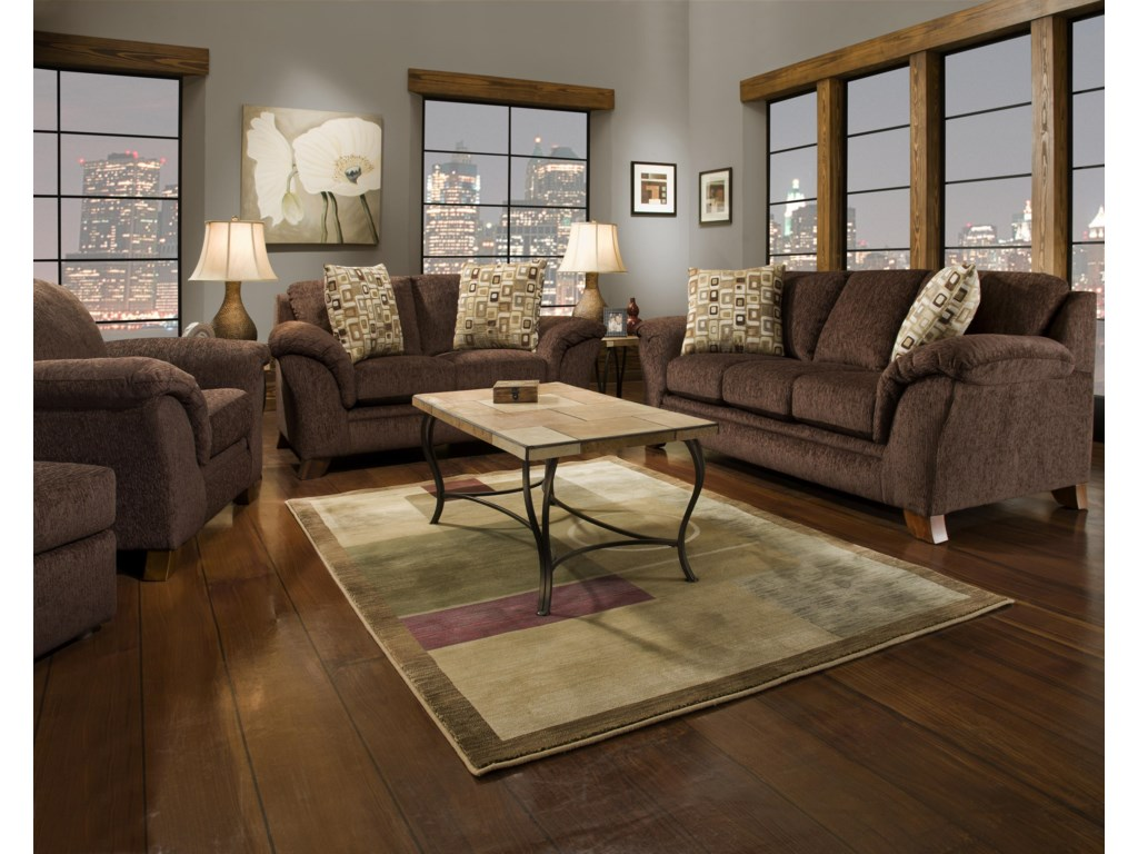 Corinthian 8420Stationary Sofa
