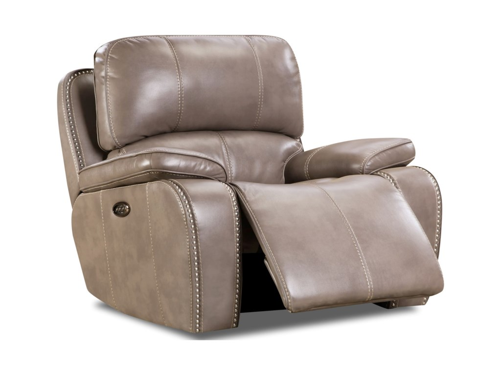 Corinthian 88907Power Headrest Glider Recliner