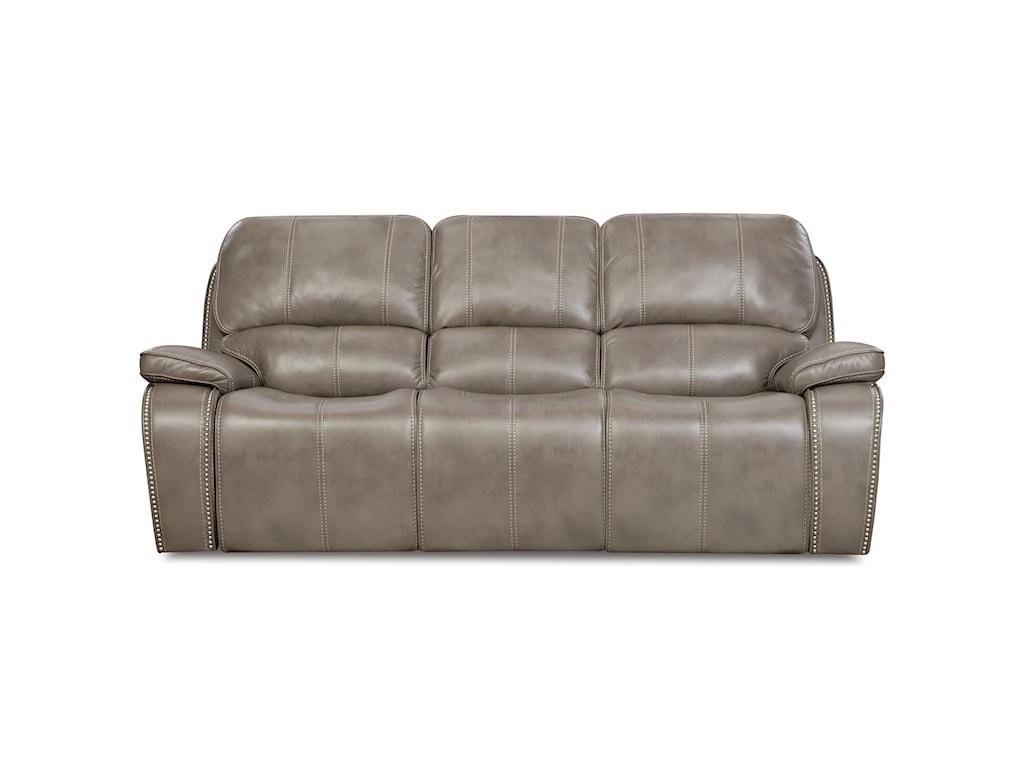Corinthian 88907Power Headrest Reclining Sofa