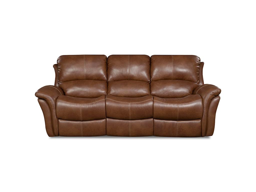 Corinthian 92106Power Headrest Reclining Sofa