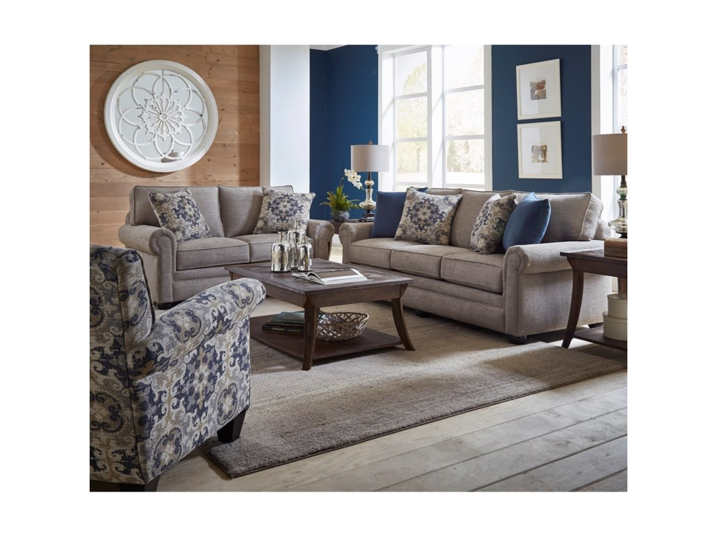 Corinthian LilouQueen Sleeper Sofa