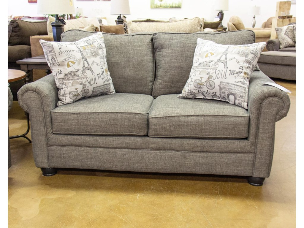 Corinthian LilouShadow Loveseat