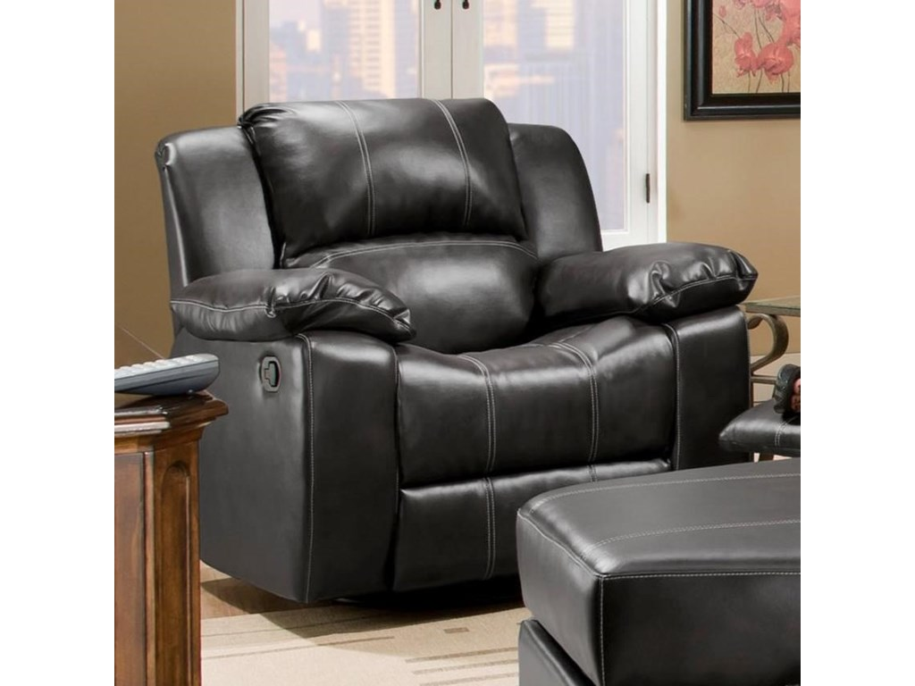 Corinthian Brady CollectionSwivel Glider Recliner