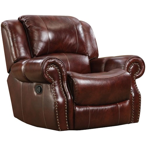 Corinthian 99901 Rocker Recliner with Traditional Style