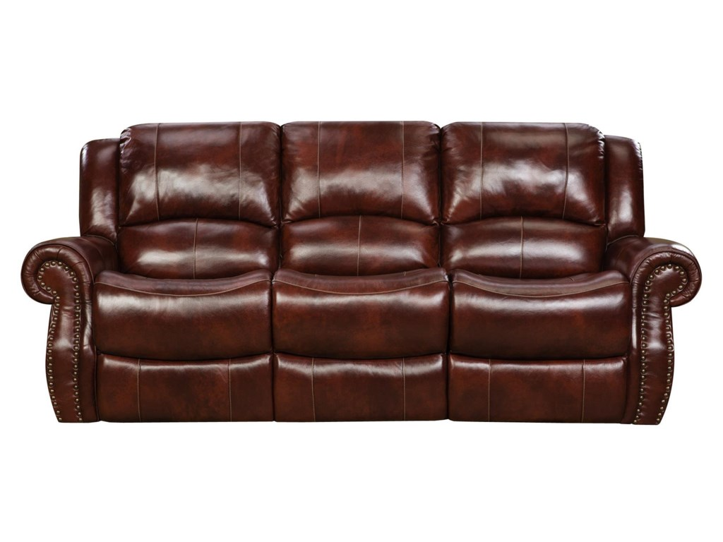 Corinthian 99901 reclining sofa with traditional style