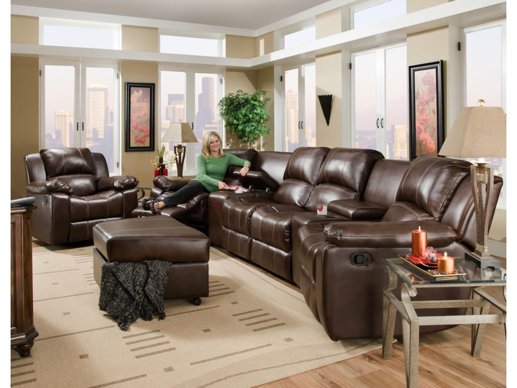 Corinthian BradyReclining Theater Seating