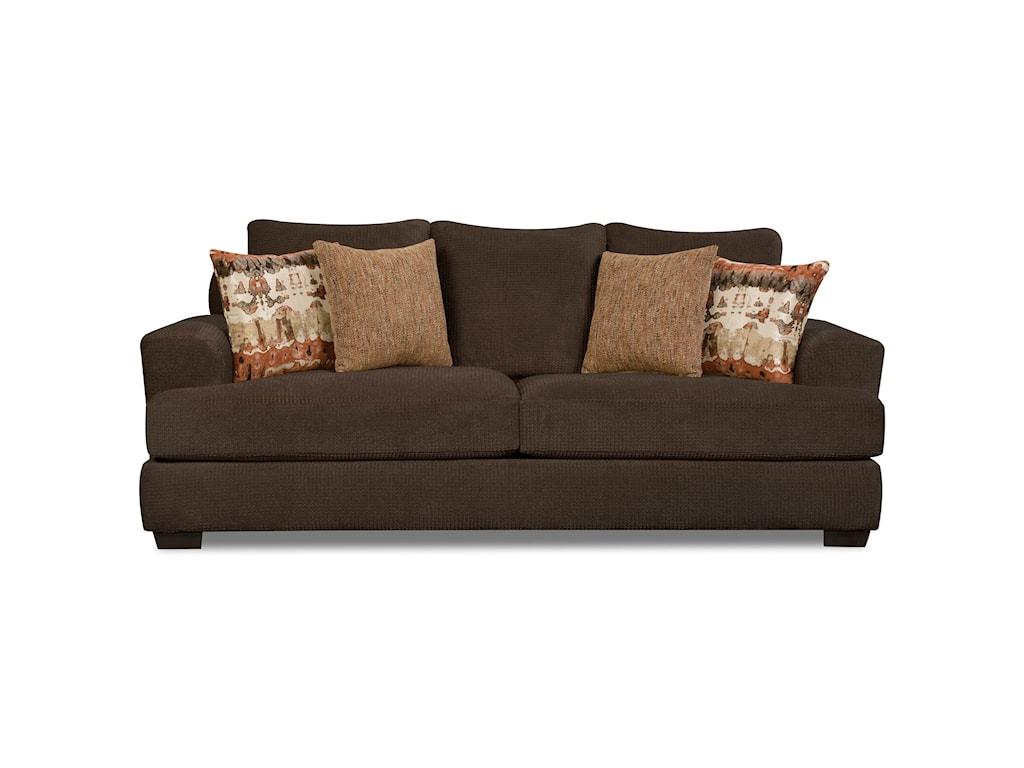 Corinthian 35b0stationary Sofa